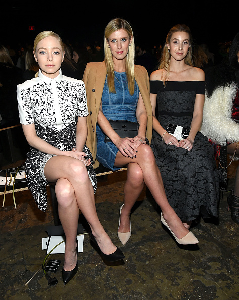 ニッキー・ヒルトン「J. Mendel - Front Row - Fall 2016 New York Fashion Week」:写真・画像(12)[壁紙.com]