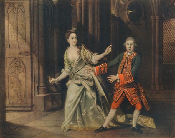 Actress「David Garrick And Mrs Pritchard As Macbeth And Lady Macbeth」:写真・画像(8)[壁紙.com]