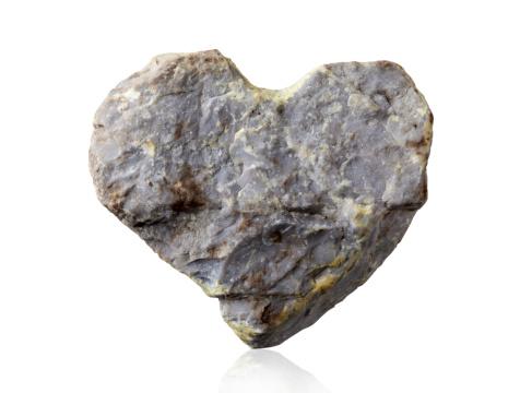 Rock - Object「stone heart」:スマホ壁紙(11)