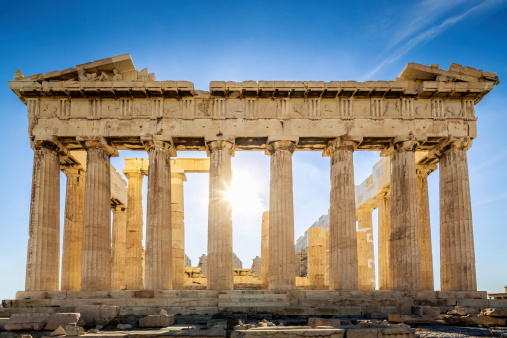Temple - Building「Acropolis Parthenon Temple,Athens,Greece」:スマホ壁紙(2)