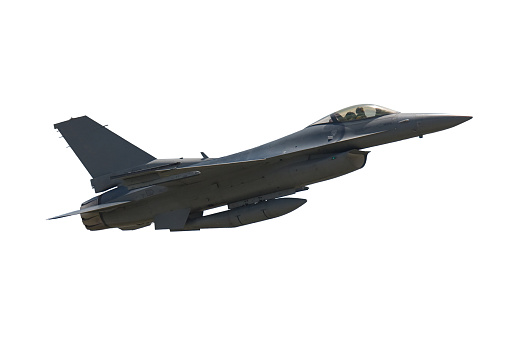 Fighter「Photo of an airborne F-16 Falcon fighter jet」:スマホ壁紙(19)
