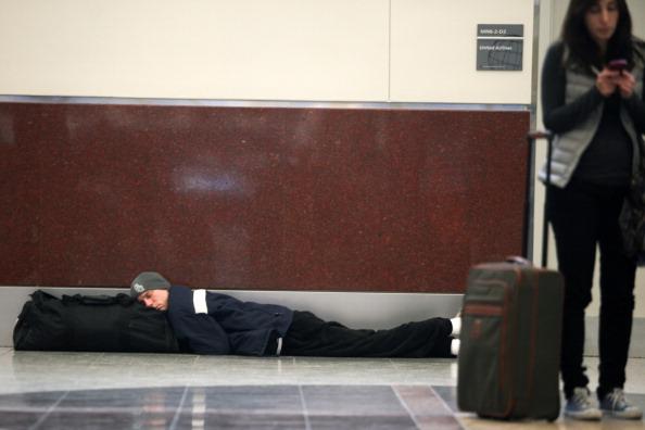 Hartsfield-Jackson Atlanta International Airport「U.S. South Hit By Crippling Winter Storm」:写真・画像(13)[壁紙.com]
