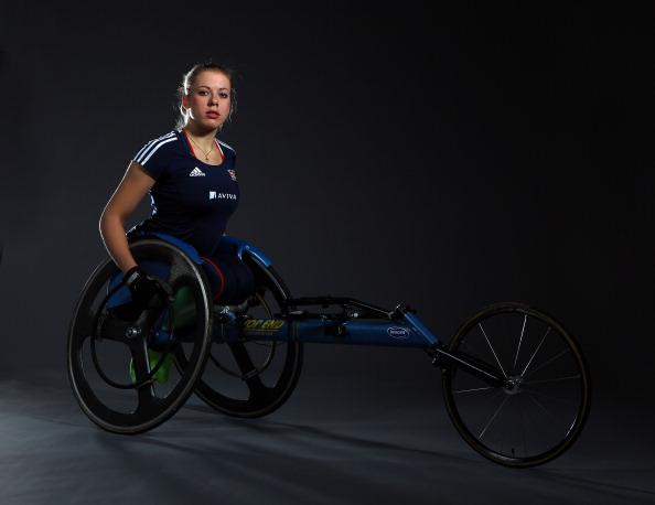 Hannah Cockroft「Aviva GB team Studio shoot prior to IPC World Athletics Championships」:写真・画像(17)[壁紙.com]