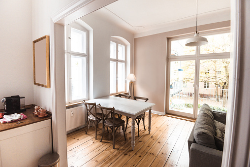 Rack「interior view of a cozy living room」:スマホ壁紙(10)