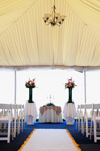 Entertainment Tent「Interior view of wedding tent」:スマホ壁紙(18)