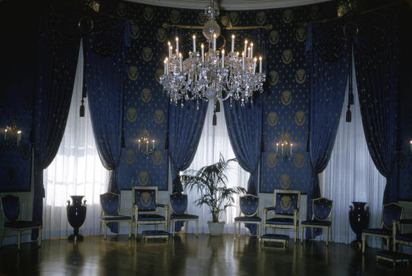 屋内「Interior of Blue Room, White House」:写真・画像(14)[壁紙.com]