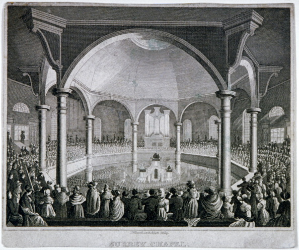 Methodist「Interior view of Surrey Chapel with a service taking place, Southwark, London, c1815. Artist: J Wilmshurst」:写真・画像(4)[壁紙.com]
