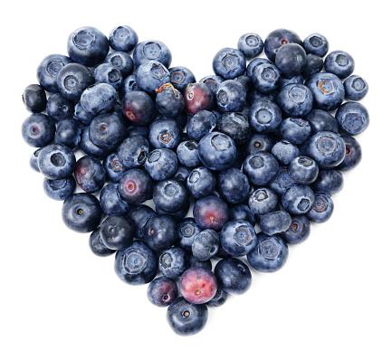 Heart「Blueberry heart」:スマホ壁紙(7)