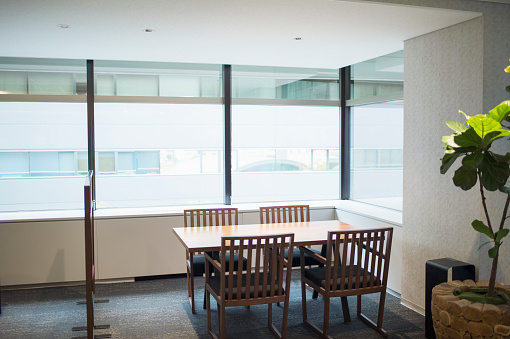 Seat「View of business conference room in office」:スマホ壁紙(9)