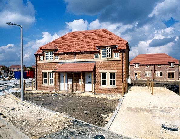 Brick Wall「Residential development, England.」:写真・画像(2)[壁紙.com]