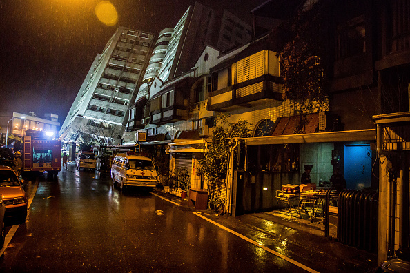 Hualien County「Aftershocks Rattle Taiwan Tourist City After Powerful Quake」:写真・画像(3)[壁紙.com]