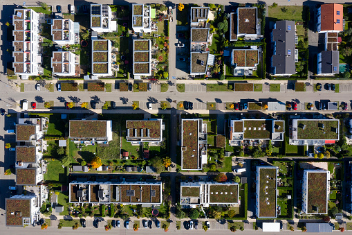 City Life「Residential Neighborhood from Directly Above」:スマホ壁紙(9)