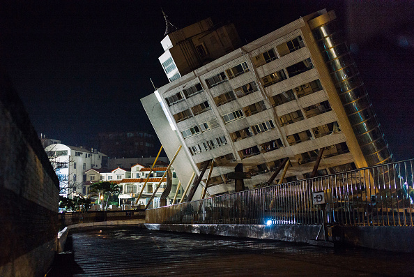Hualien County「Aftershocks Rattle Taiwan Tourist City After Powerful Quake」:写真・画像(2)[壁紙.com]