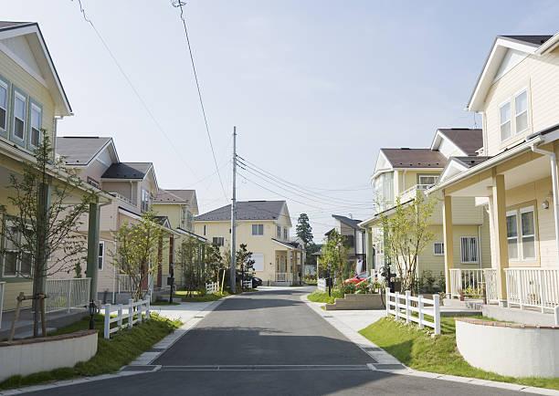 Residential district:スマホ壁紙(壁紙.com)