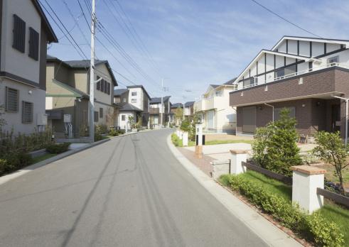 Telephone Pole「Residential district」:スマホ壁紙(0)