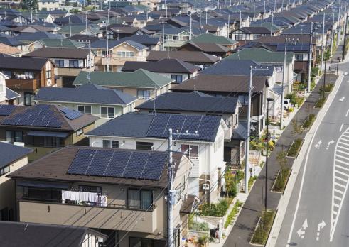 Japan「Residential district」:スマホ壁紙(17)