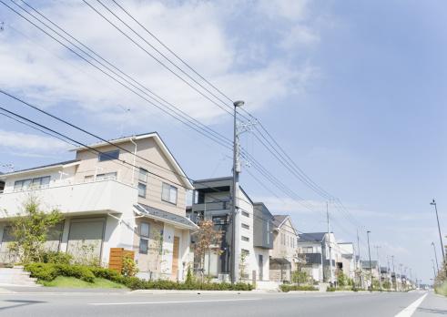 Telephone Pole「Residential district」:スマホ壁紙(19)
