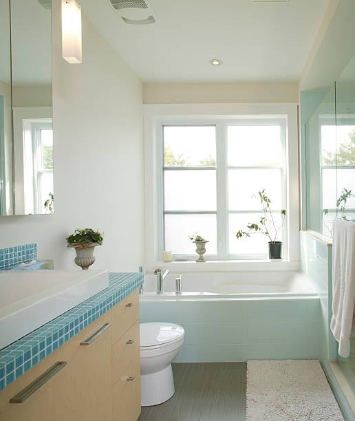 residential modern bathroom:スマホ壁紙(壁紙.com)