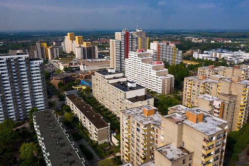 Housing Project「Residential blocks」:スマホ壁紙(17)