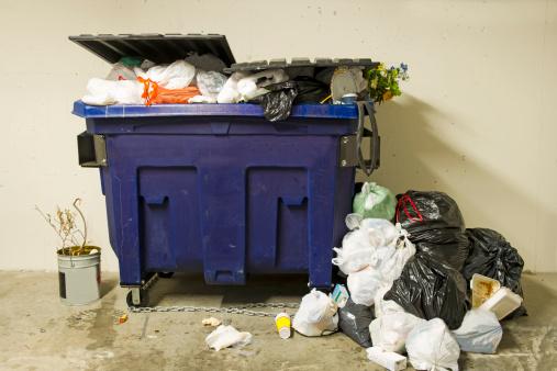 Industrial Garbage Bin「Residential Dumpster」:スマホ壁紙(18)