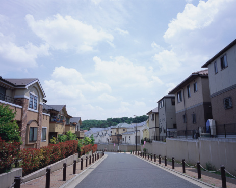Tokyo - Japan「Residential district in Japan」:スマホ壁紙(9)