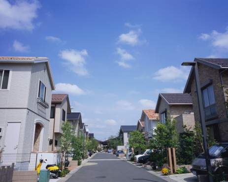 Japan「Residential district in Japan」:スマホ壁紙(6)