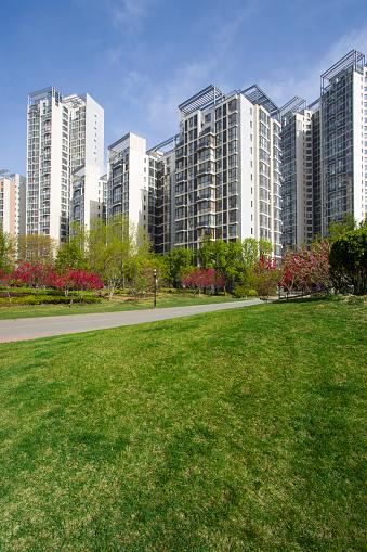 Pedestrian Zone「Residential buildings in Beijing, China」:スマホ壁紙(5)
