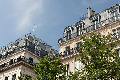 France「Residential architecture, Paris, France」:スマホ壁紙(0)