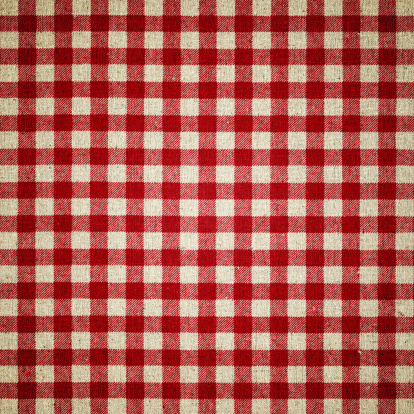Square「Red Plaid Fabric」:スマホ壁紙(11)