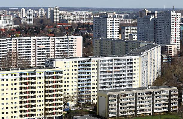Communist-Era Highrise Apartment 'Plattenbau' Berlin:ニュース(壁紙.com)