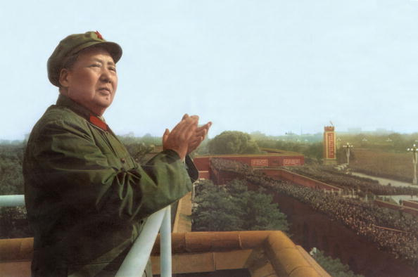 China Photos「Mao Tse Toung (1893-1976) chinese president here during review of army of The Great Proletarian Cultural Revolution in Pekin, november 3, 1967」:写真・画像(6)[壁紙.com]