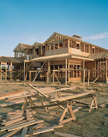 Part of a Series「House under construction」:スマホ壁紙(16)