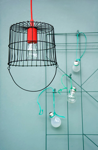 Lamp Shade「Upcycled metal basket」:スマホ壁紙(10)