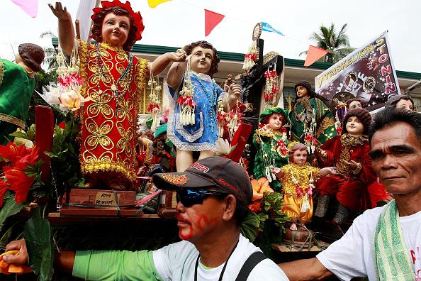 Religious Mass「Filipino Catholics Gather To Celebrate The Feast of Santo Nino」:写真・画像(7)[壁紙.com]
