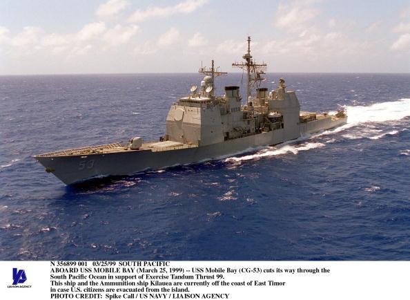 Active Volcano「Aboard USS Mobile Bay」:写真・画像(1)[壁紙.com]