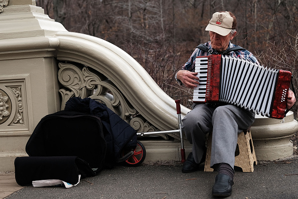 Accordion - Instrument「New York City Basks In Early Warm Spring Weather」:写真・画像(8)[壁紙.com]