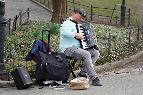 Accordion - Instrument「Daily Life In New York City Amid Coronavirus Outbreak」:写真・画像(9)[壁紙.com]