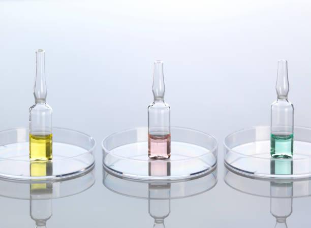 Ampullae in petri dishes:スマホ壁紙(壁紙.com)