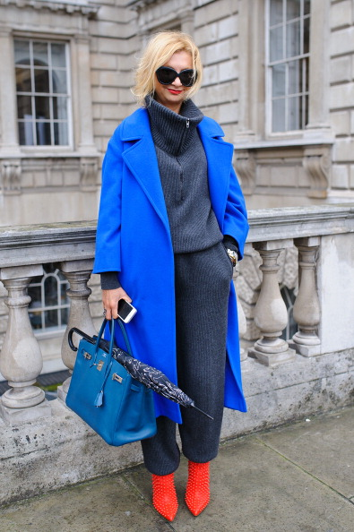 London Fashion Week「Street Style: Day 1 - London Fashion Week AW14」:写真・画像(6)[壁紙.com]
