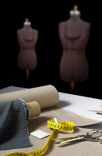 Cloth pattern「Sewing forms in a tailor's atelier」:スマホ壁紙(5)