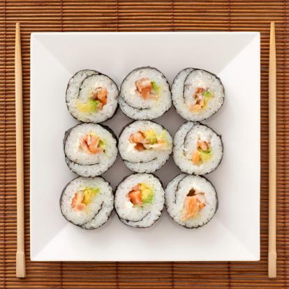 Number 9「Sushi」:スマホ壁紙(10)