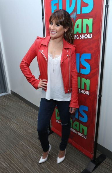 "Scalloped - Pattern「Lea Michele Visits ""The Elvis Duran Z100 Morning Show""」:写真・画像(8)[壁紙.com]"