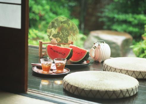 スイカ「Porch in Summer」:スマホ壁紙(10)