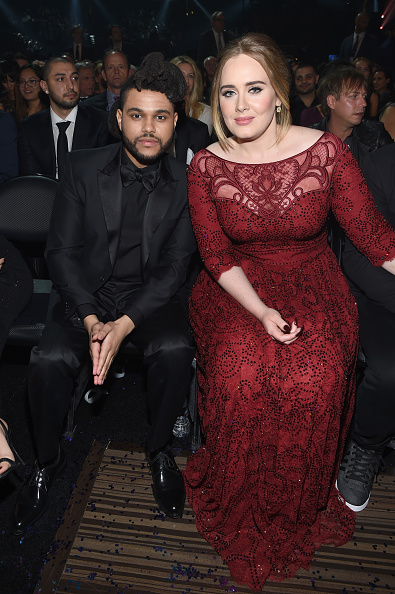 Adele - Singer「The 58th GRAMMY Awards - Backstage And Audience」:写真・画像(9)[壁紙.com]