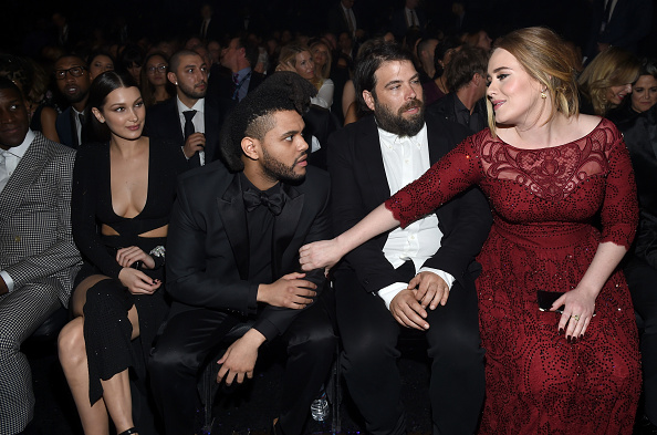 Adele - Singer「The 58th GRAMMY Awards - Backstage And Audience」:写真・画像(15)[壁紙.com]