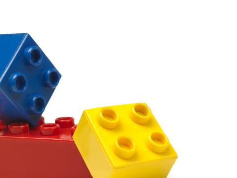 Three Objects「Plastic blocks」:スマホ壁紙(4)