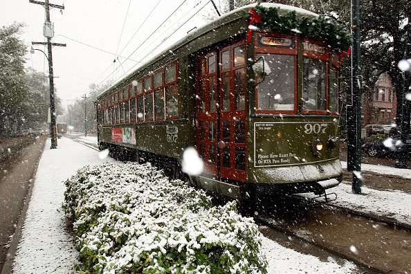 Snow「New Orleans Gets A Rare Blanket Of Snow」:写真・画像(8)[壁紙.com]