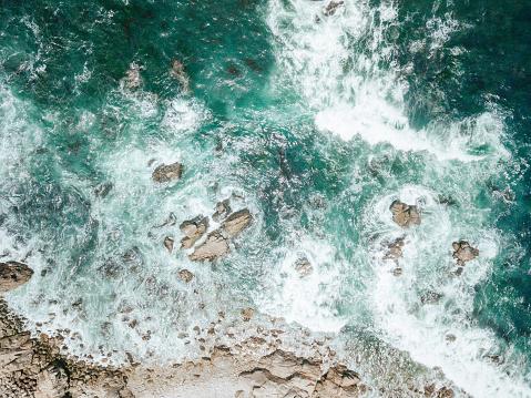Big Sur「Aerial of Ocean Waves」:スマホ壁紙(17)