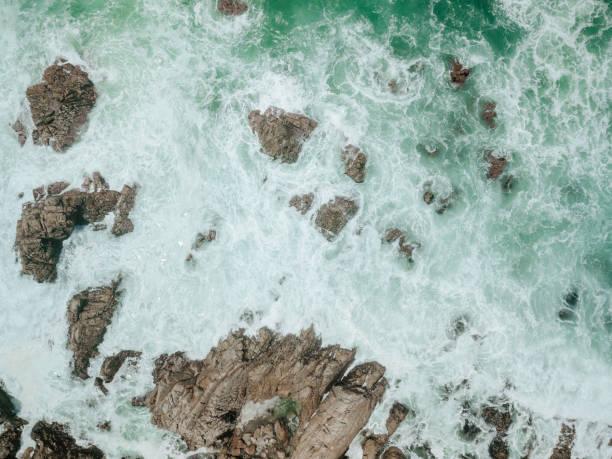 Aerial of Ocean Waves:スマホ壁紙(壁紙.com)