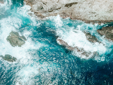 Big Sur「Aerial of Ocean Waves」:スマホ壁紙(18)